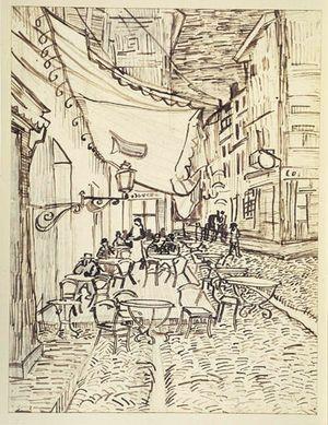 Cafe Terrace On The Place Du Forum Van Gogh Arte Museo De Arte Van Gogh