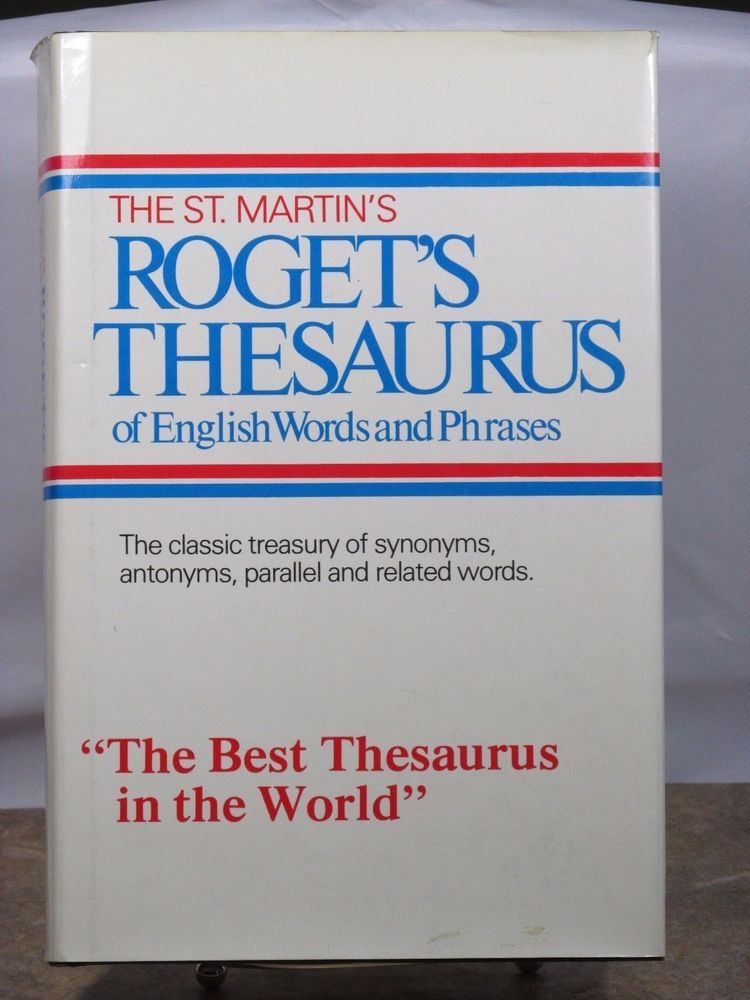 Roget's Thesaurus of English Words and Phrases, Americanized
