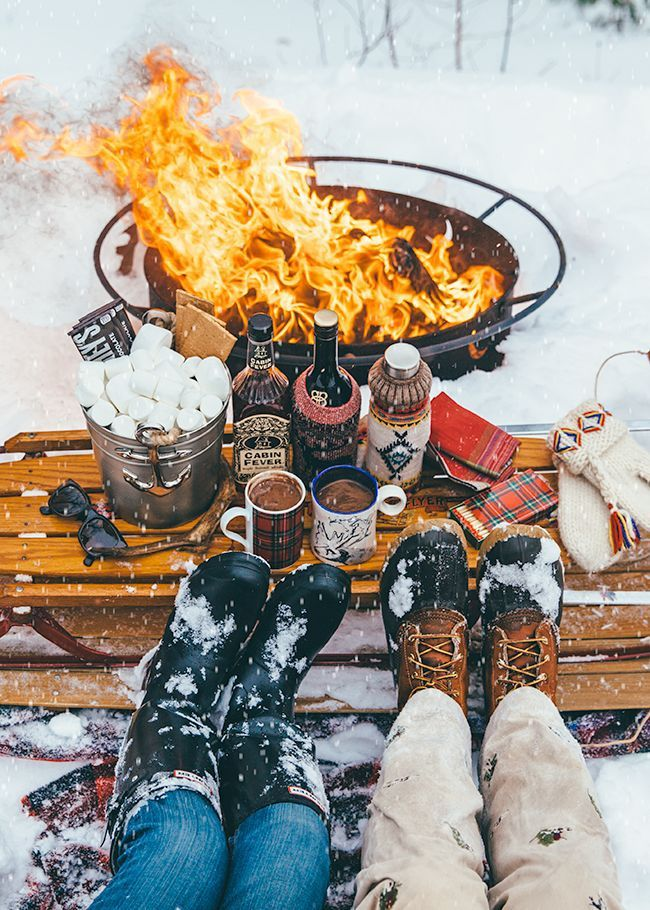Photo of Hosting a Winter Bonfire Party – Cashmere & Camo
