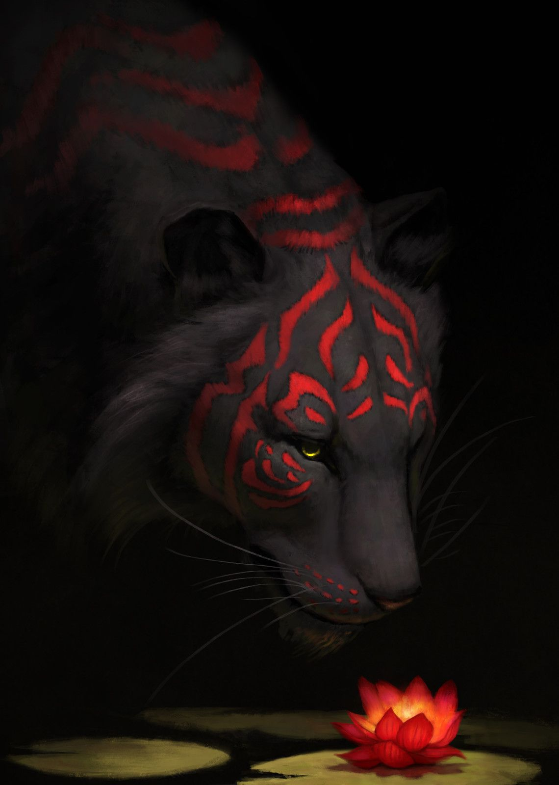 Tiger Lily, Jade Mere on ArtStation at https://www.artstation.com/artwork/l9WzO