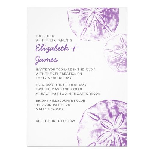 DealsBeach Sand Dollar Wedding Invitations Cardsin each seller & make purchase online for cheap. Choose the best price and best promotion as you thing Secure Checkout you can trust Buy best