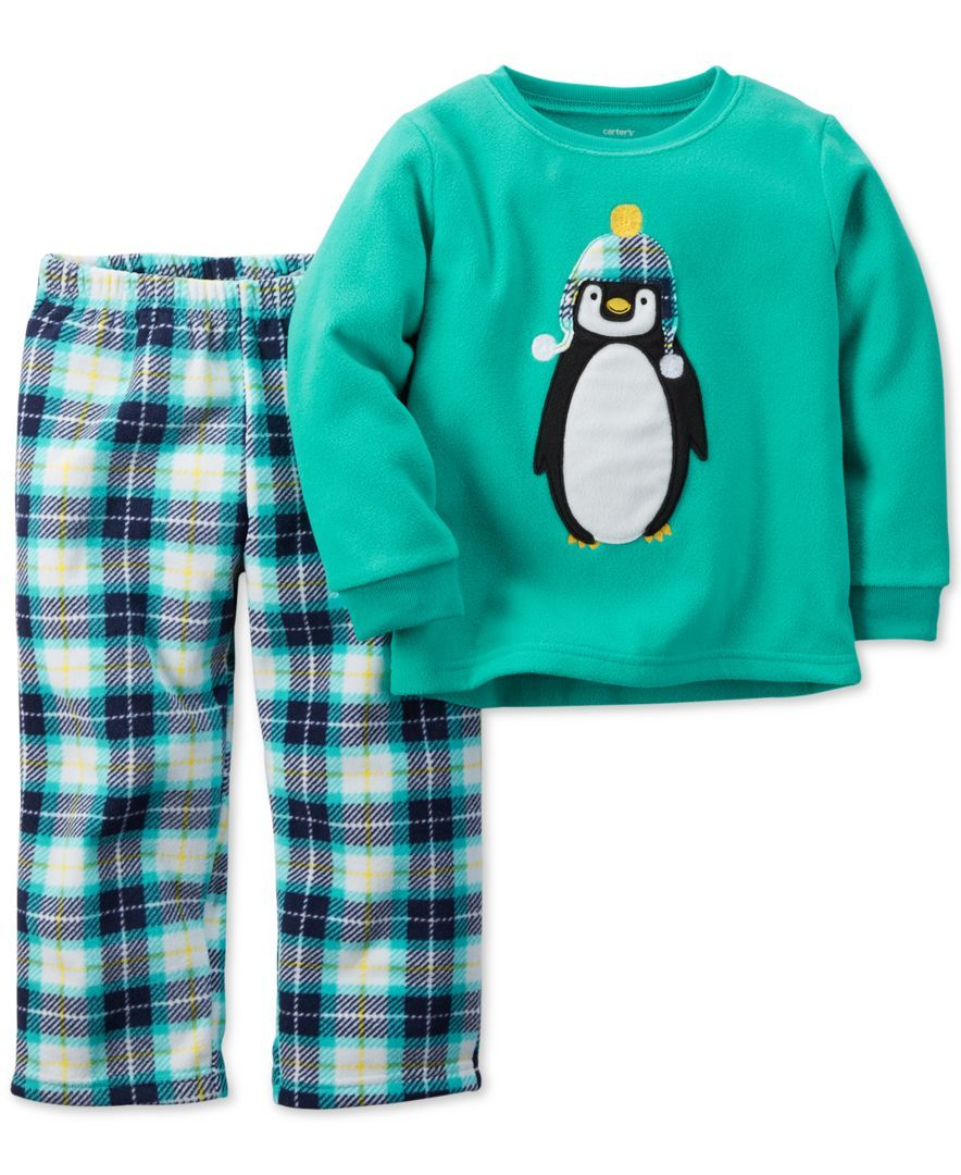 e65bbf66621f Carter s Toddler Boys  Two-Piece Penguin Pajama Set