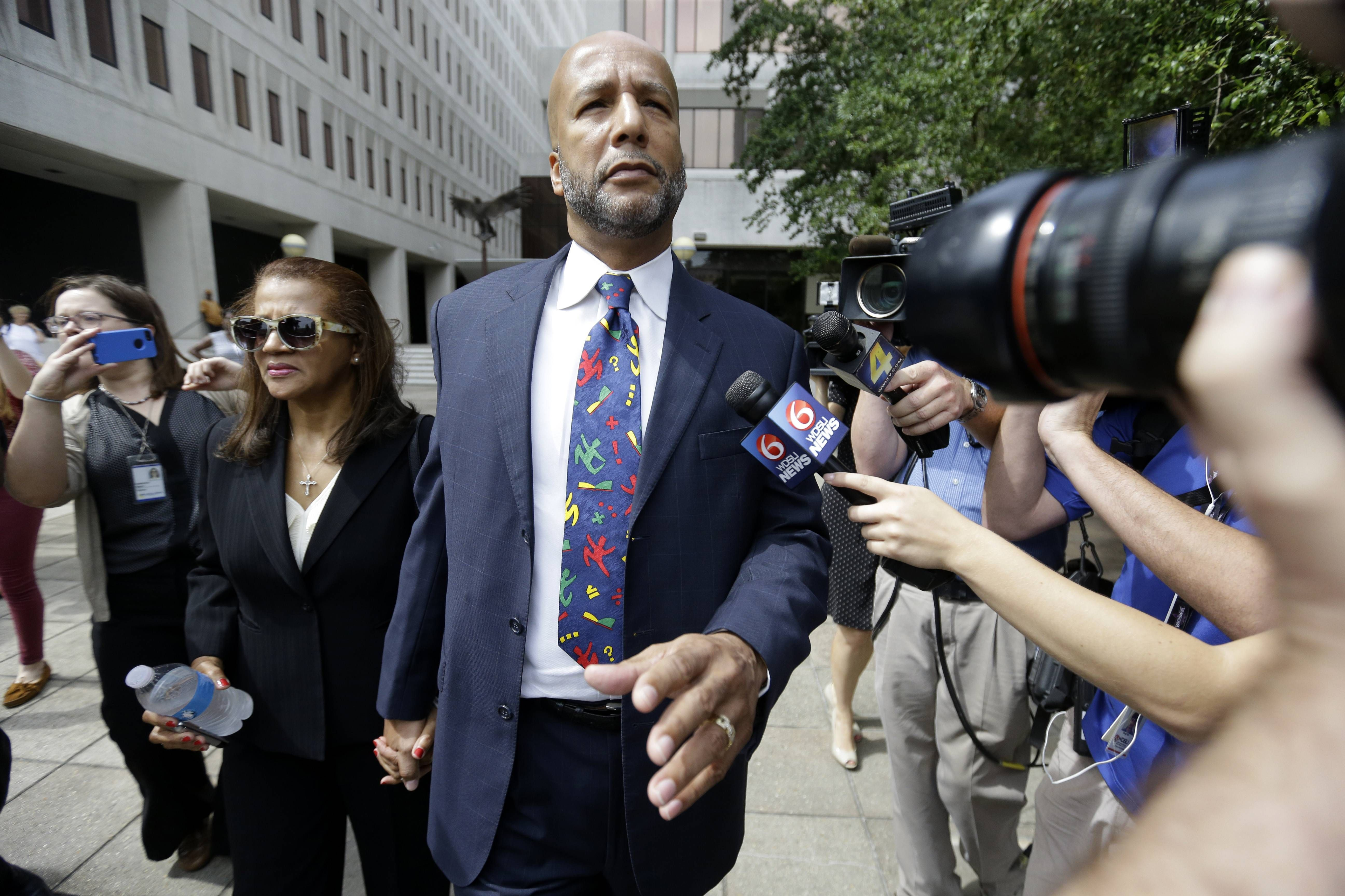Former New Orleans Mayor Ray Nagin was sentenced Wednesday to 10 years in prison for bribery, money laundering and other corruption that spanned his two terms as mayor — including the chaotic years after Hurricane Katrina hit in 2005.