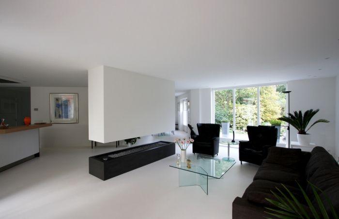 Witte gietvloer woonkamer google zoeken ideeën voor het huis