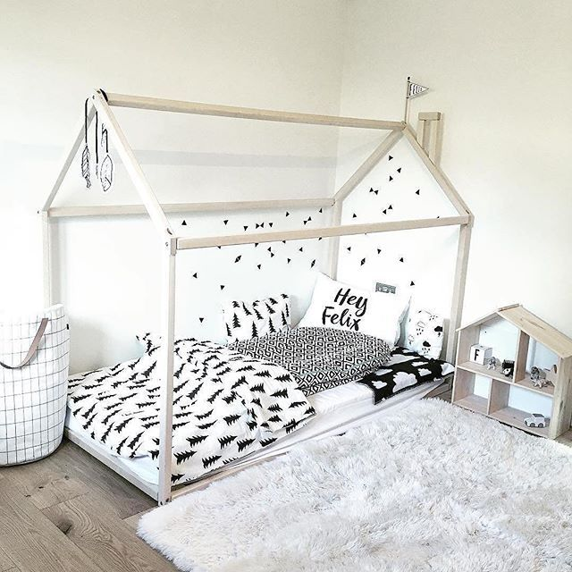The Ultimate Toddler Room Set Up Dream House Bed Frame Low