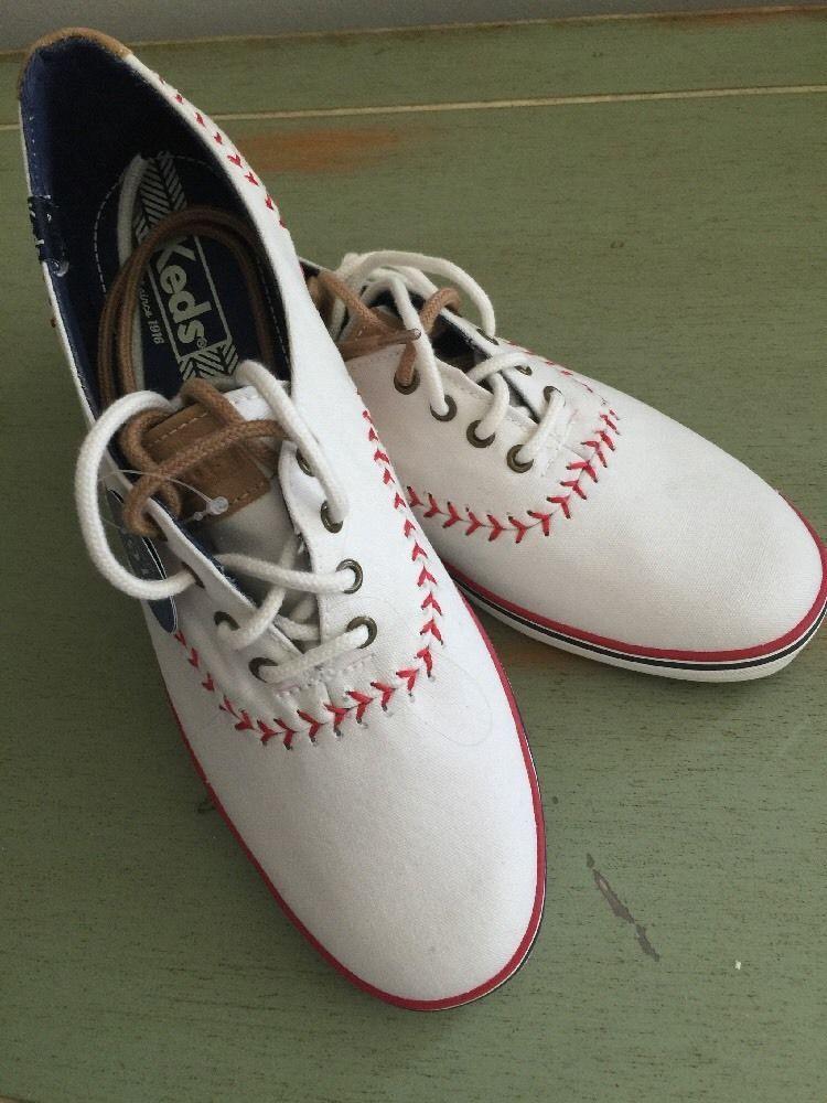 4c8352c658f4fa KEDS Baseball Womens shoes sz 8