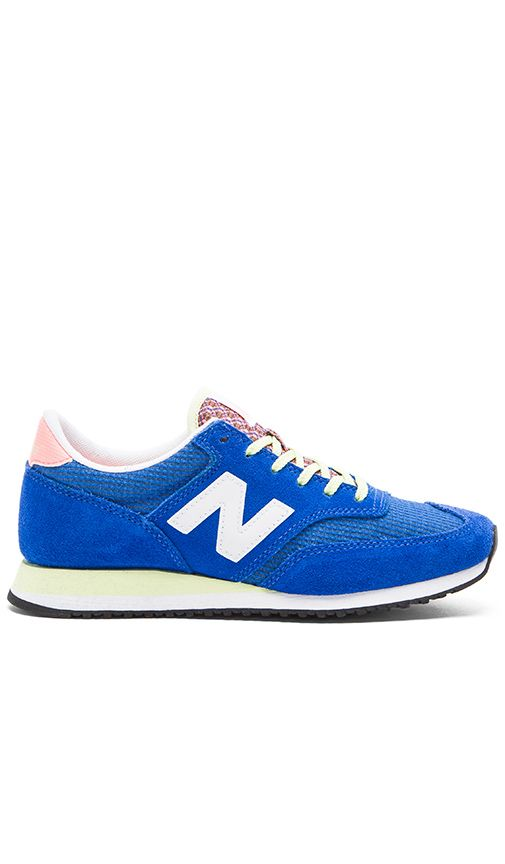 zapatillas new balance azul electrico