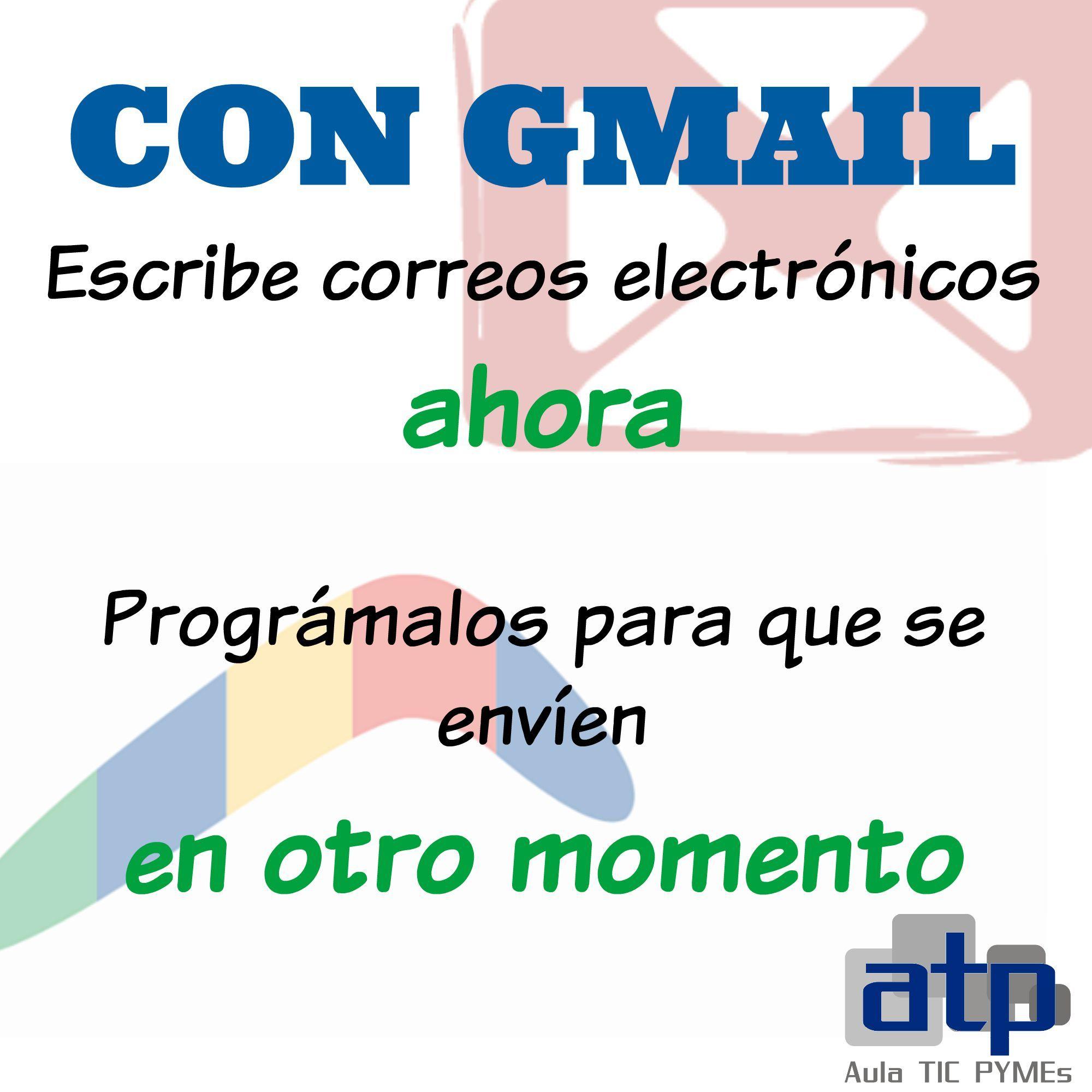 ¿Quieres saber cómo programar el envío automático de tus correos en #Gmail de forma muy rápida y sencilla?