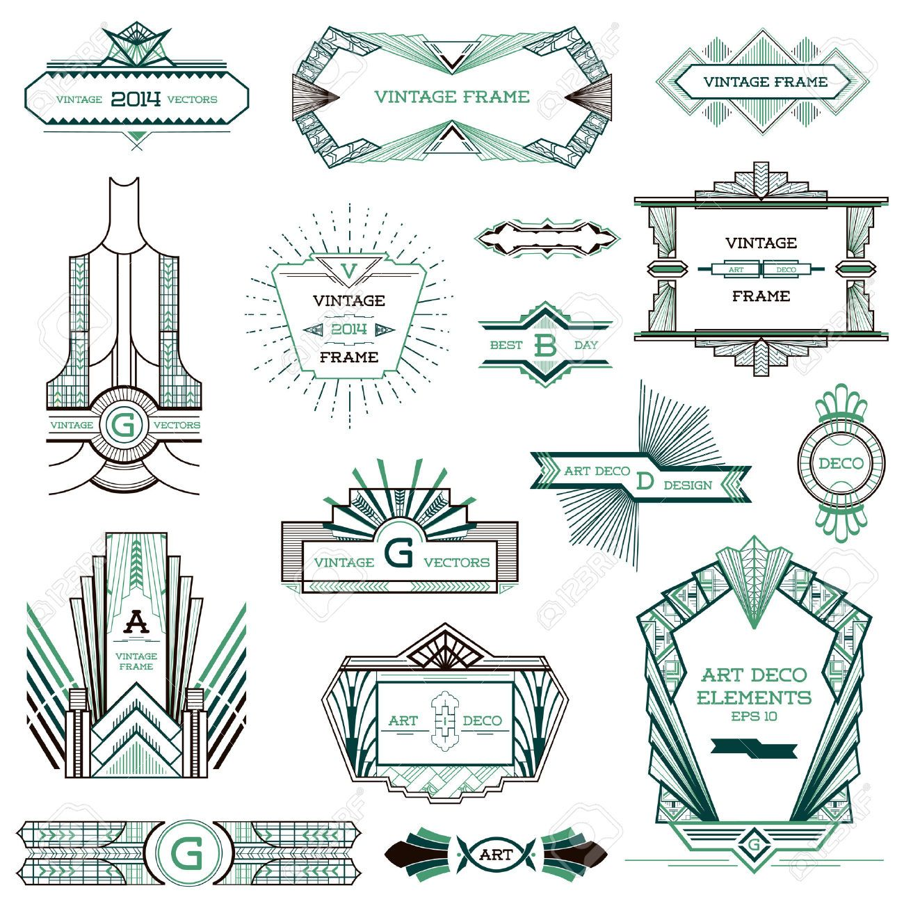 Art deco packaging design google search graphic design - Art deco design elements ...