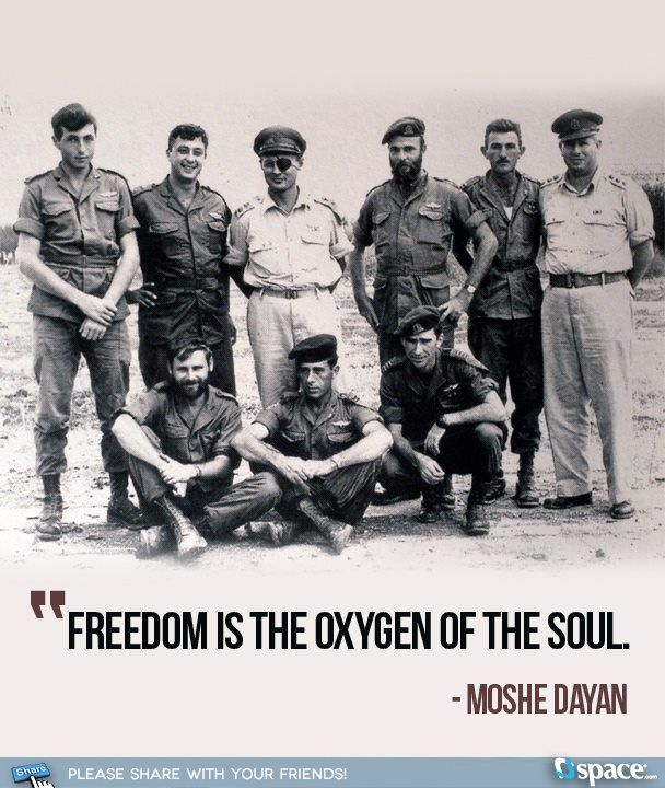 MOSHE DAYAN Moshe Dayan: Israeli military leader and politician was the fourth Chief of Staff of the Israel Defense Forces from 1953 to 1958. Born on a kibbutz, he joined the newly formed Haganah at the age of 14 and fought during the birth of the state of Israel.