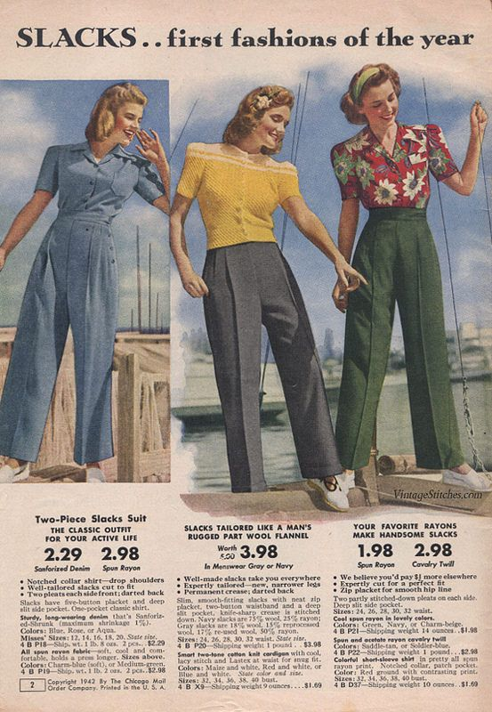 40s Style With M Co And Me: Summer 1942 Sale Chicago Mail Order Company In 2019
