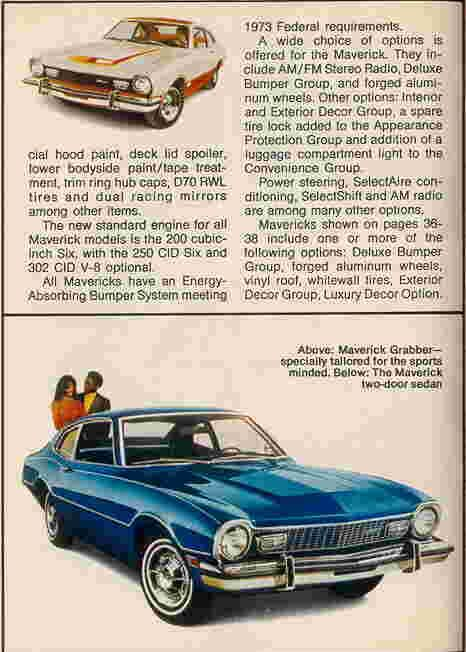 The Ford Maverick Articles Page Ford Maverick Mavericks Ford