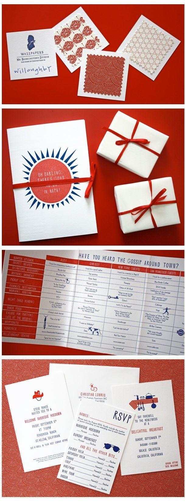 Graphic Design Ideas - fantastic mr. boddington\'s wedding invitation ...