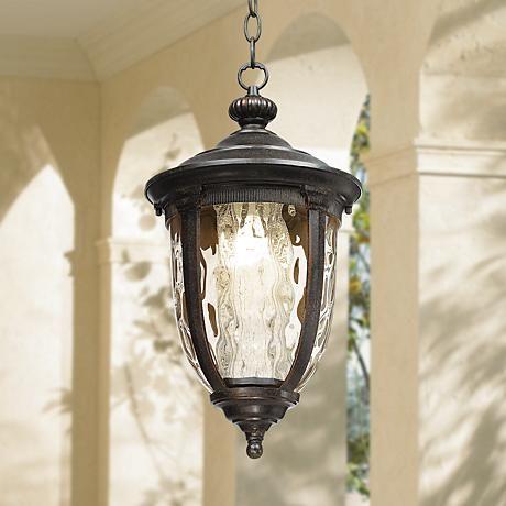 Bellagio 18 high energy efficient outdoor hanging light