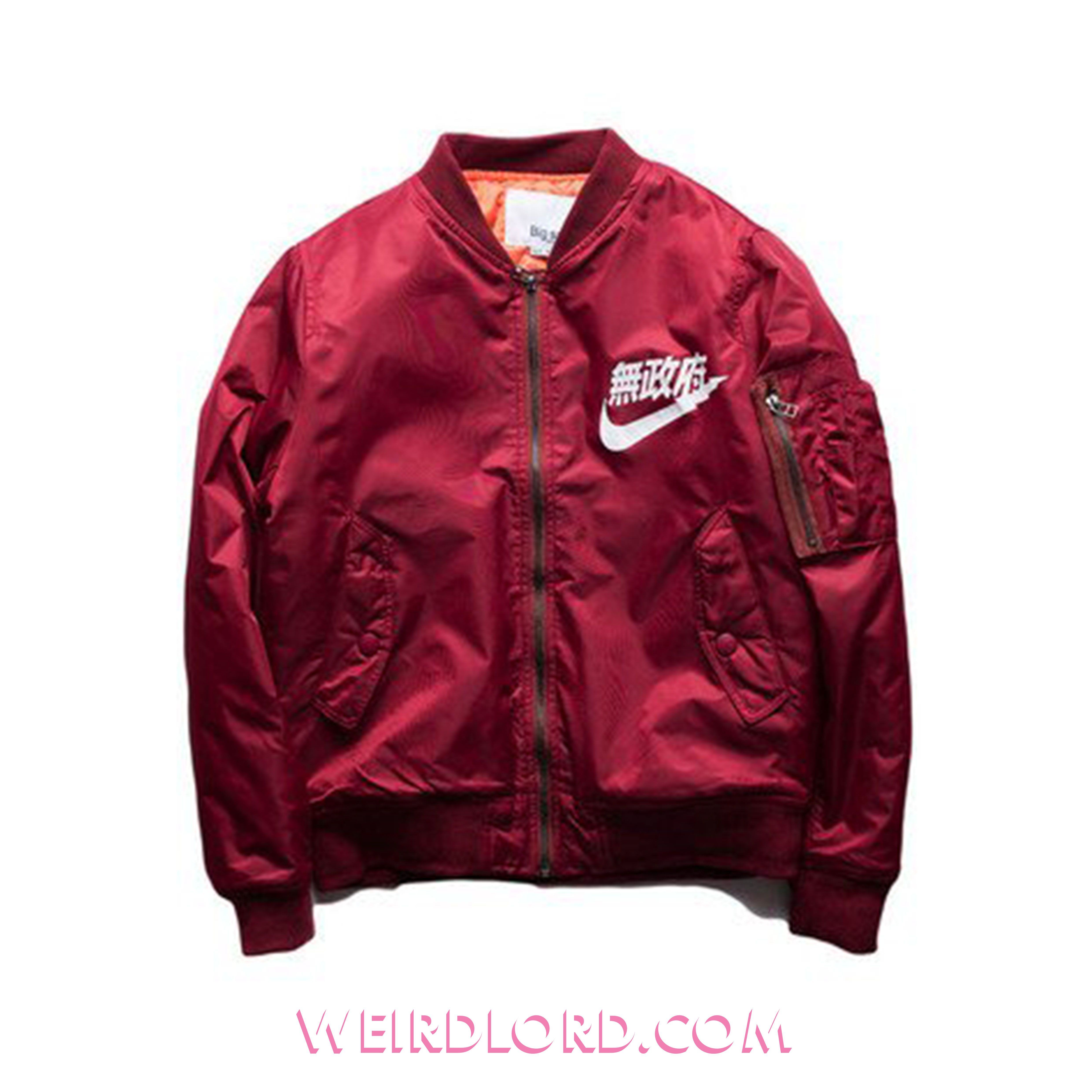 Anarchy Bomber Jacket Red Bomber Jacket Bomber Jacket Men Nike Bomber Jacket [ 4961 x 4961 Pixel ]