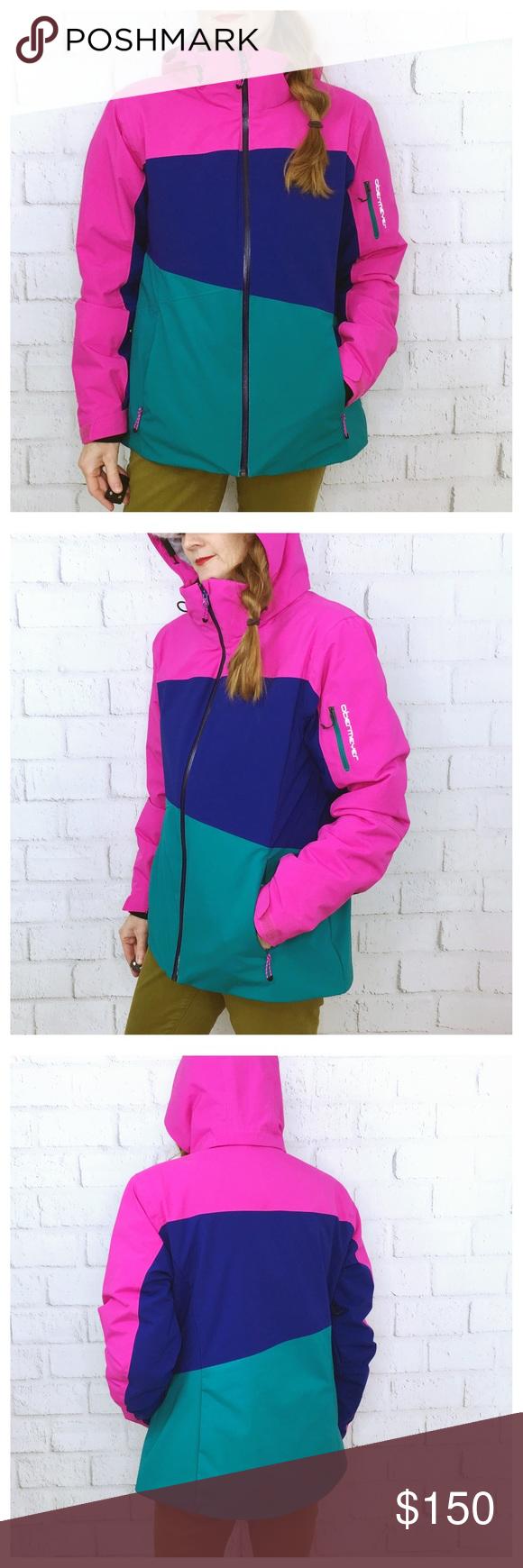 6a391773e0 Obermeyer Women s Luna Ski Jacket. Size 12 Obermeyer Women s Ski Jacket.  Size 12 NWOT