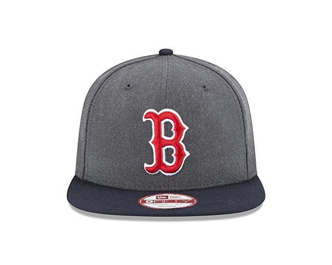 be8c4741c New Era MLB Boston Red Sox Heather 9Fifty Snapback Cap