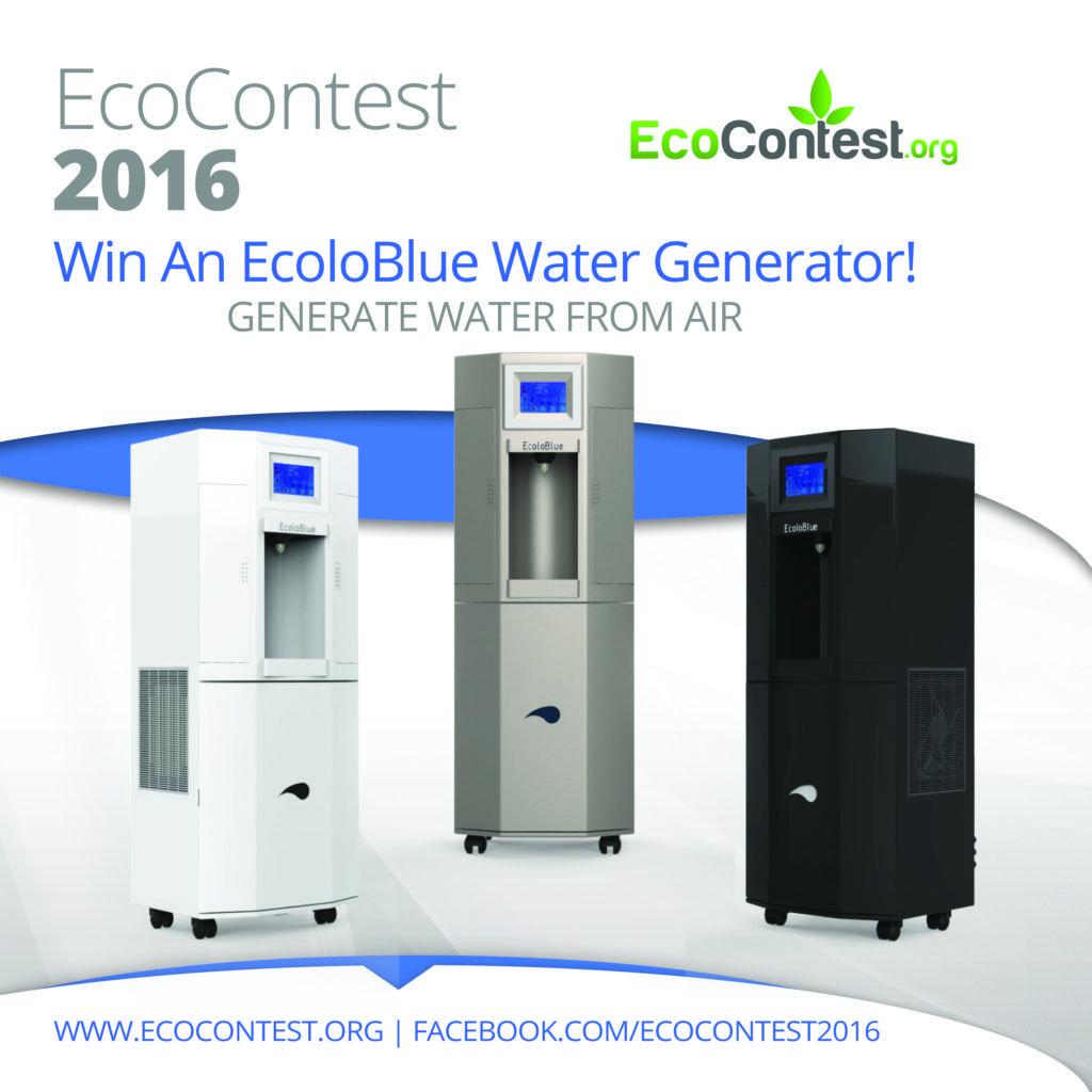 ecocontest2016 in 2020 Water generator, Atmospheric
