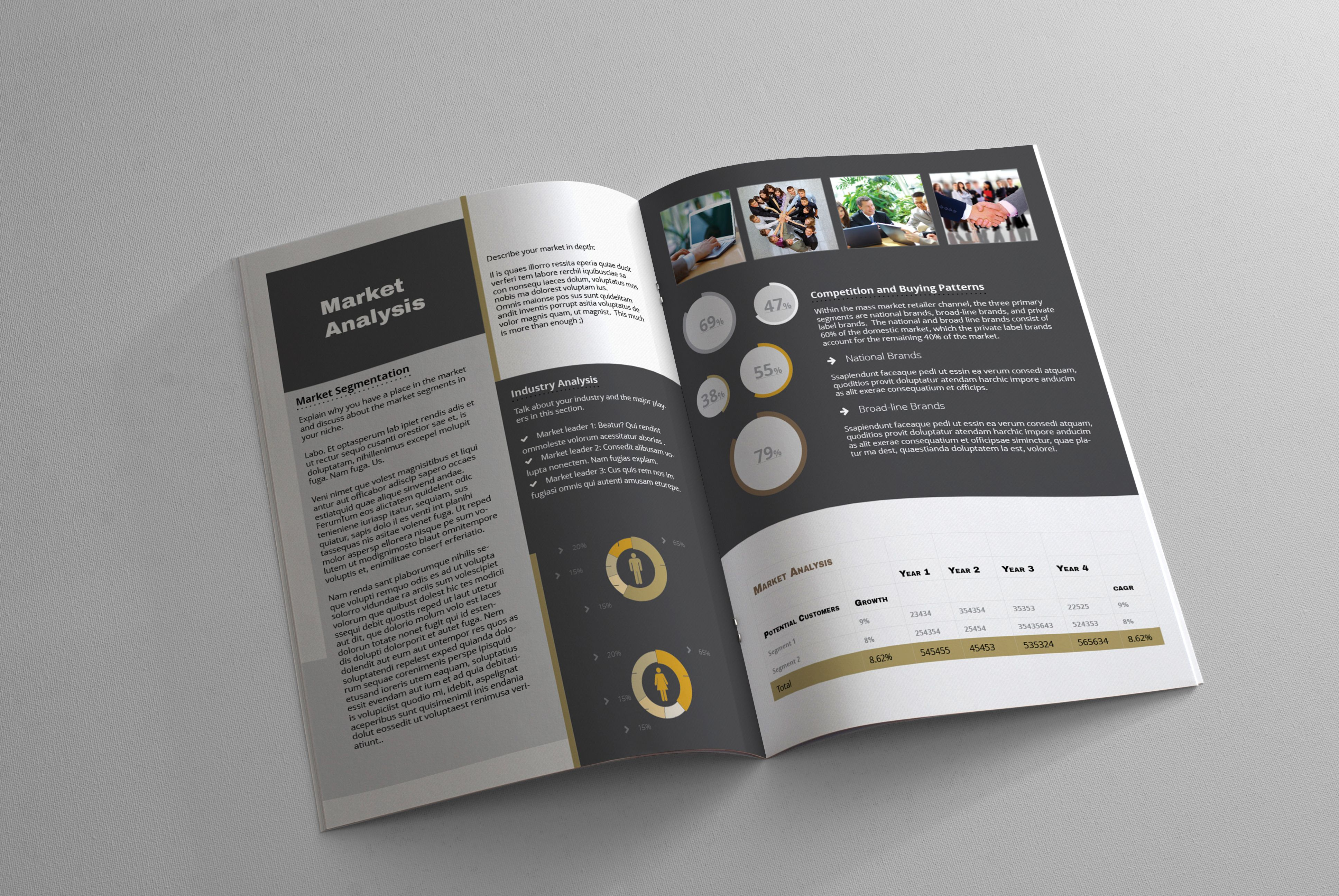 My Startup – Quick Elevator Pitch Template – A4   Design Haven ...