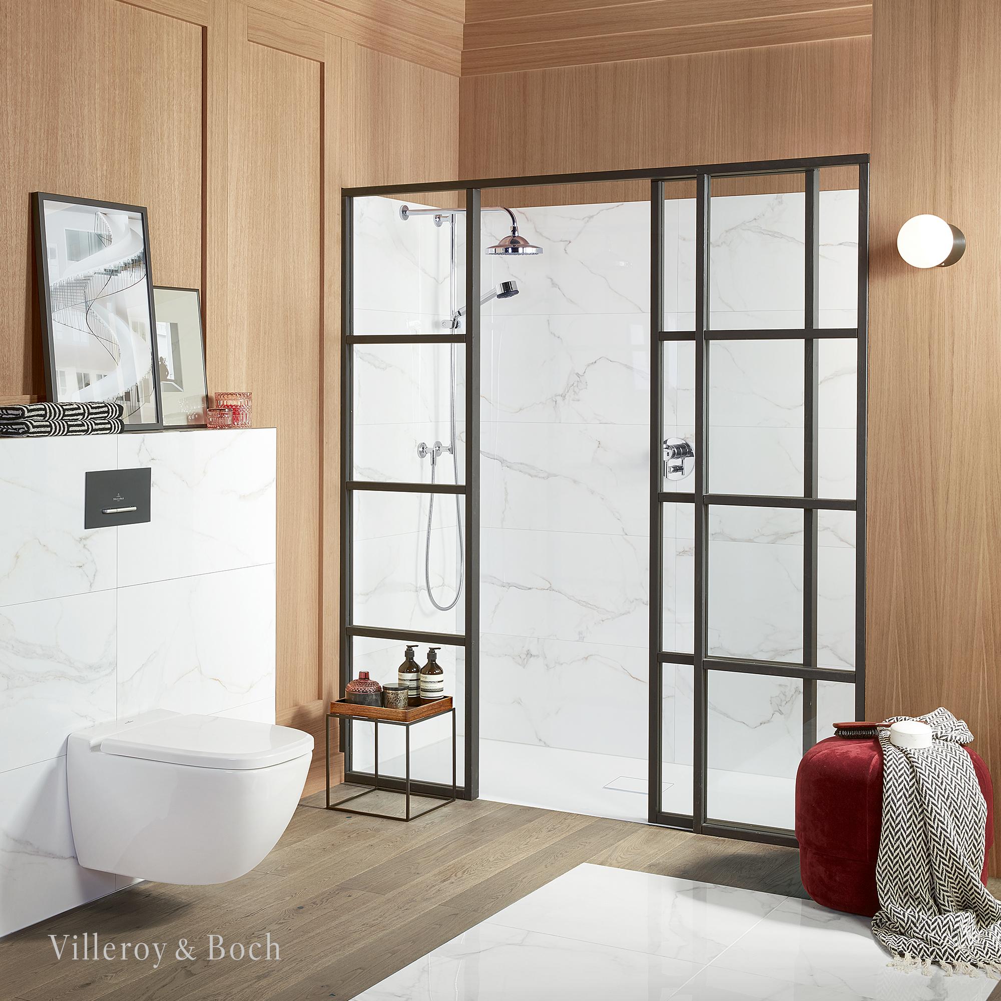 Wood With A Modern Twist Toiletten Kleines Badezimmer Umgestalten Bad Inspiration