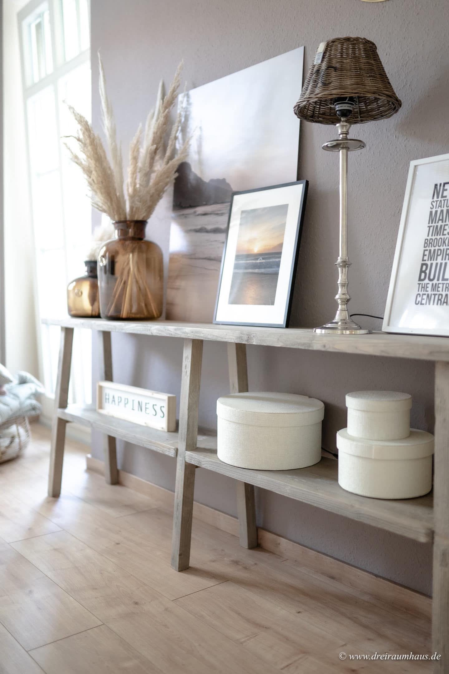 Dekosamstag: Vorher/Nachher - ein neuer Look für das Wohnzimmer! #alpinafeinefarben