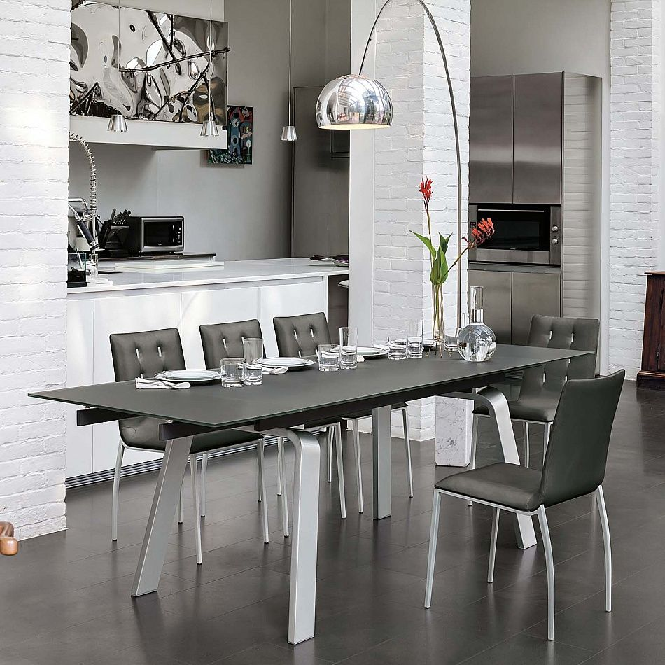 Electa fixed laminate top dining table by Target Point ...