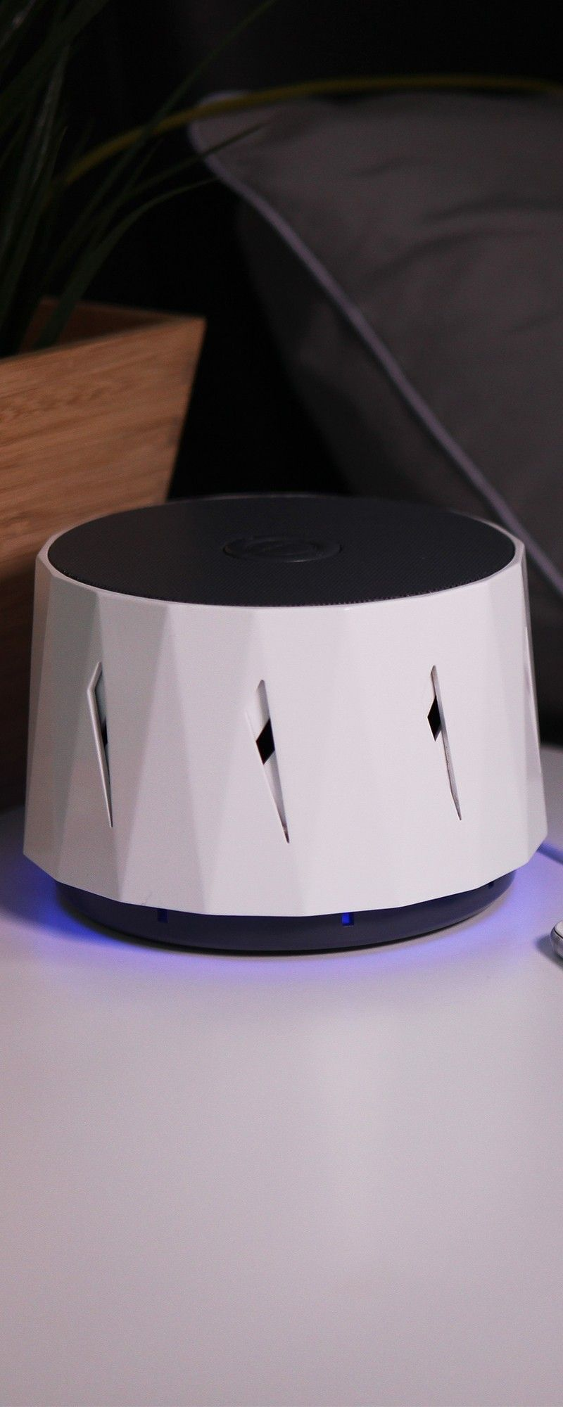Sleep soundly with this modern sound machine. Unlike ...