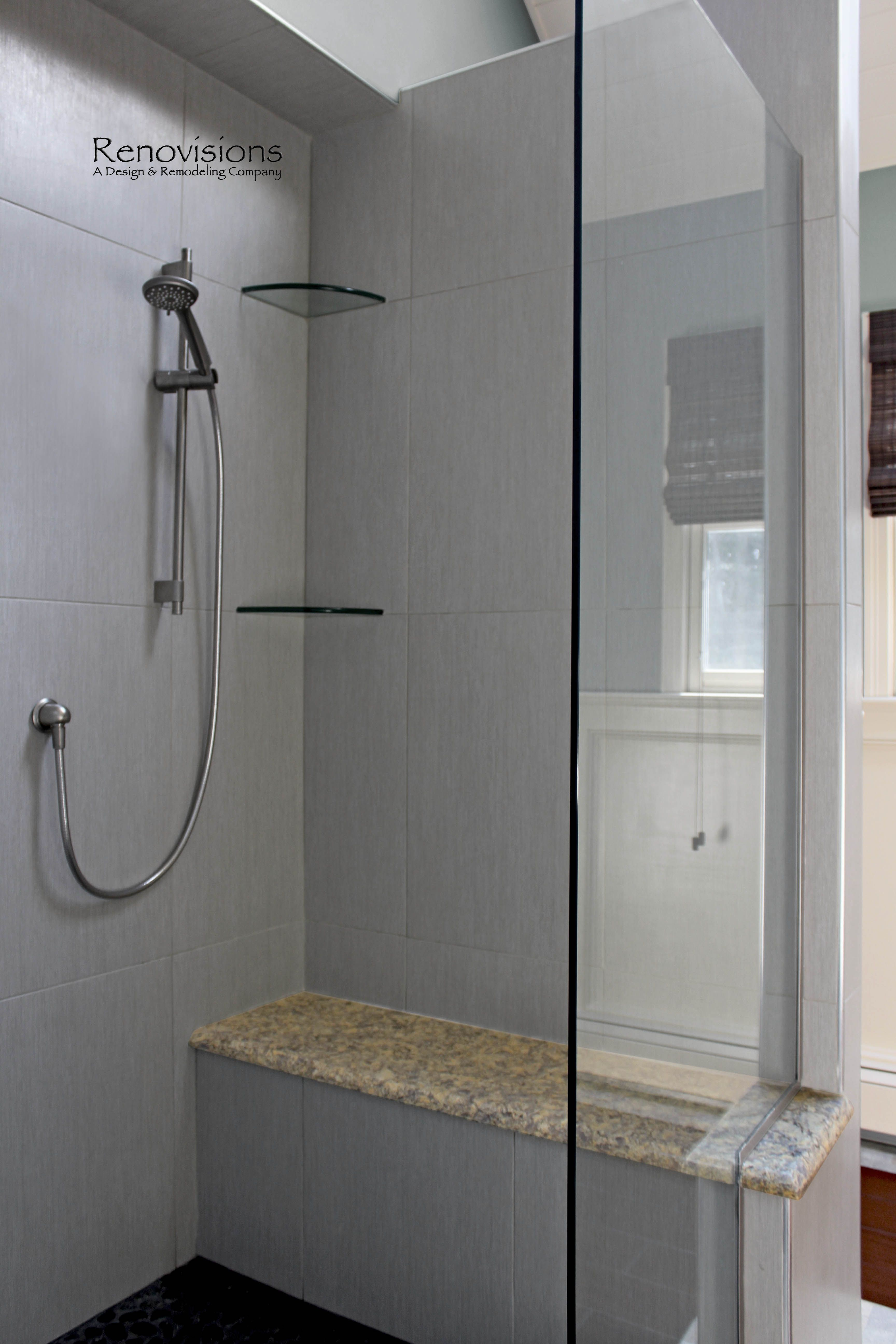 A Recently Completed Master Bathroom Remodel By Renovisions Master