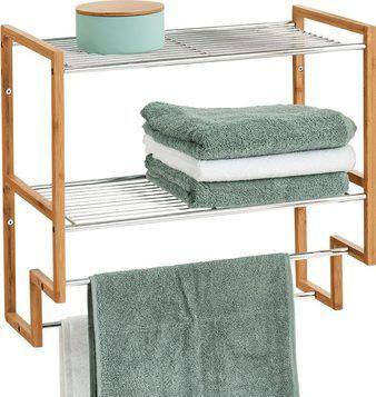 Badezimmerregal mit Handtuchhaltern online kaufen