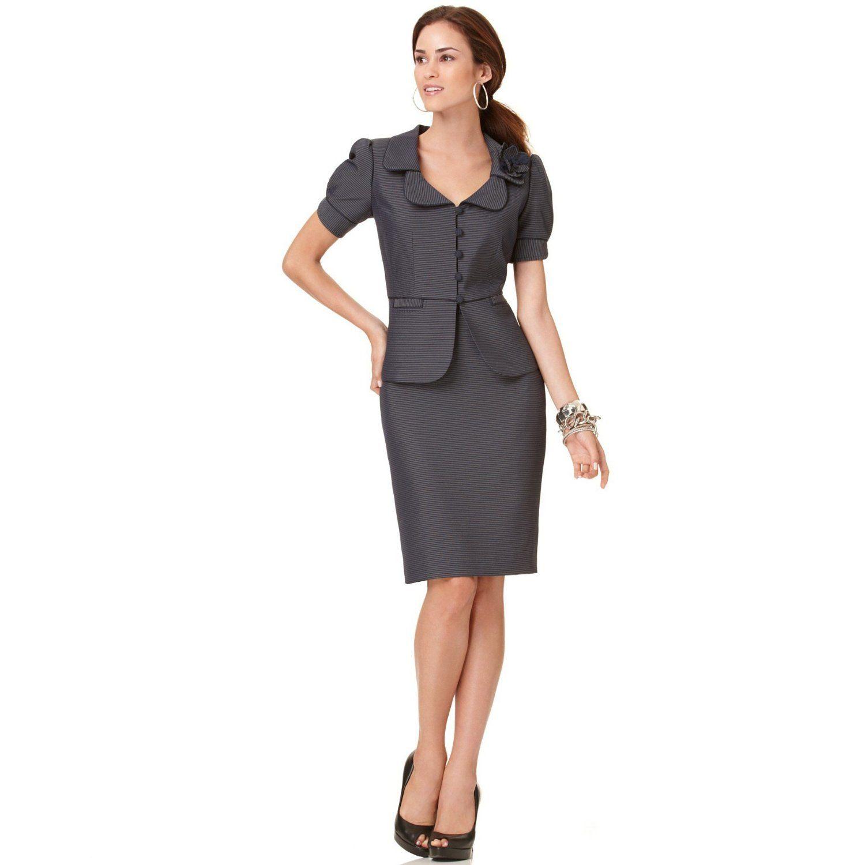 vestidos tipo sastre para señoras gorditas - Buscar con Google ... a4309af108e1