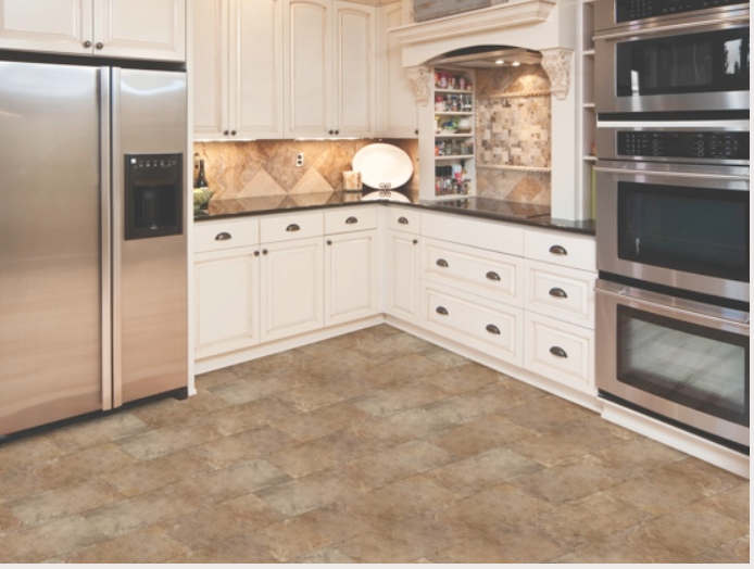 click flooring for kitchens golden select click luxury vinyl tile slate 5482