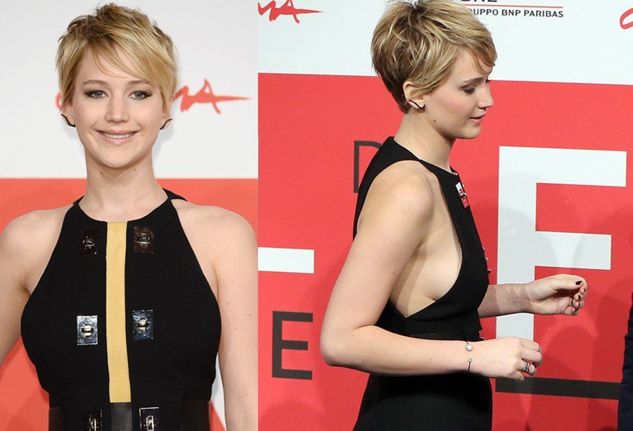 Jennifer Lawrence: Dreharbeiten ohne BH waren befreiend