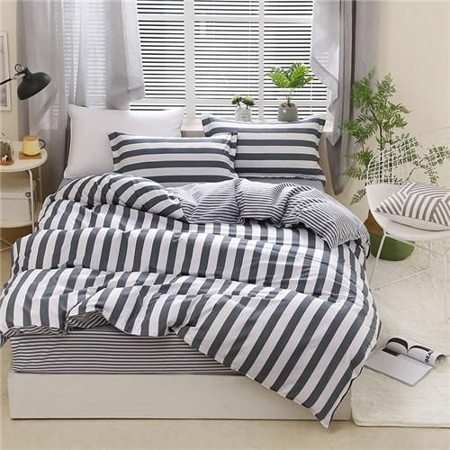 Duvet Cover Set Super Soft and Comfortable 2 Pieces 1 Duvet Cover 1 Pillows for Teenagers Single Bed Youth Student BTS BTS Bedding Set