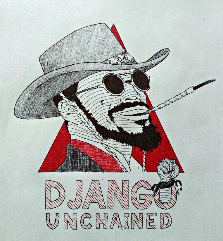 django livre django unchained filme movie tarantino desenho