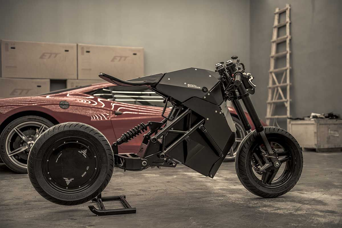 Fast And The Furious Electric Motorcycle By Ett Industries Electric Motorcycle Motorcycle Design Electric Motorbike