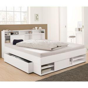 Postel s úložným prostorem Bed furniture design, Bedroom