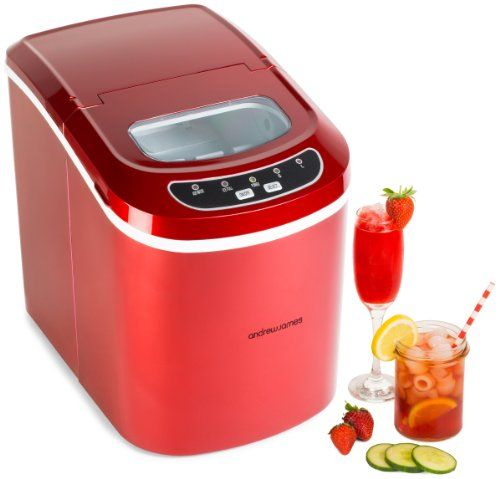 andrew james compact counter top ice maker machine in stu    https   andrew james compact counter top ice maker machine in stu    https      rh   pinterest com