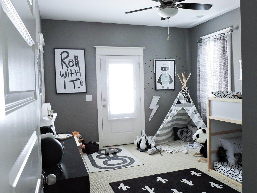 Big Boy Room Reveal Cool Bedrooms For Boys Little Boy Bedroom Ideas Boy Toddler Bedroom Little boy room design