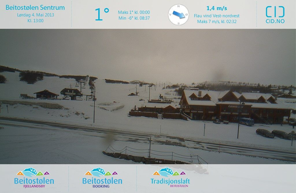 Beitost�len (Norway) Sat May 04 2013 11:00:07