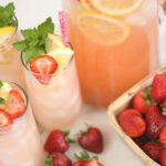 Homemade Strawberry Lemonade - Print
