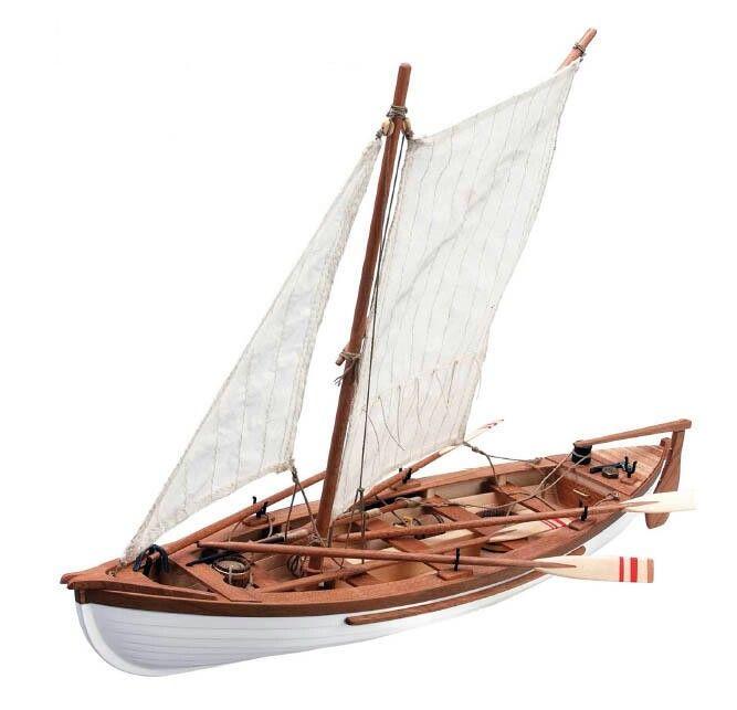 Barco pesquero ingles artesania en madera
