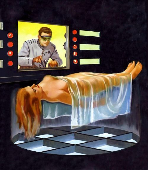 eroticmadsci:  vintagecoolillustrated:  Ed Valigursky   I'm not entirely sure what that guy's job is, but I think I want it.