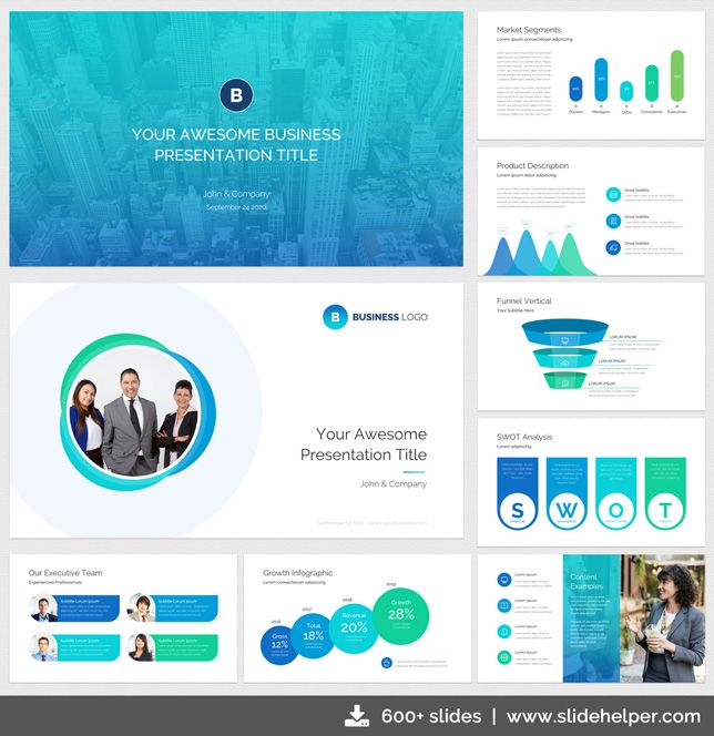 Pin by slide helper on professional powerpoint templates pinterest classy business presentation template professional business powerpoint template from slidehelper download https flashek Gallery