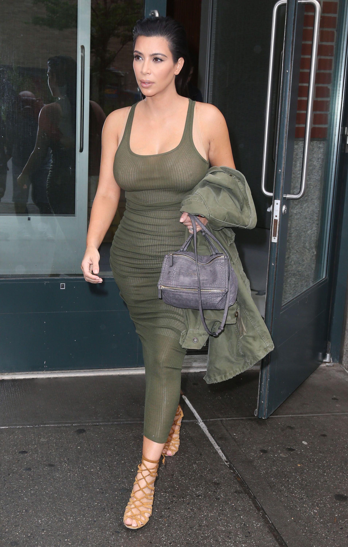 Kim Kardashian is Lockdown her BODY Until She loose 70 Lbs Baby
