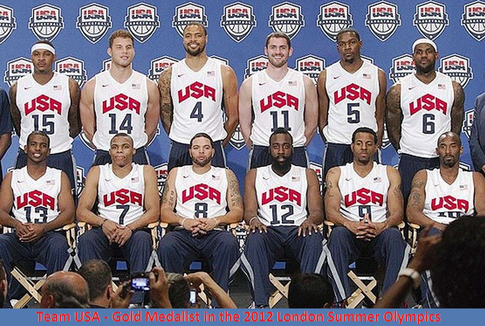 US Basketball Team Wins the Gold in the 2012 London