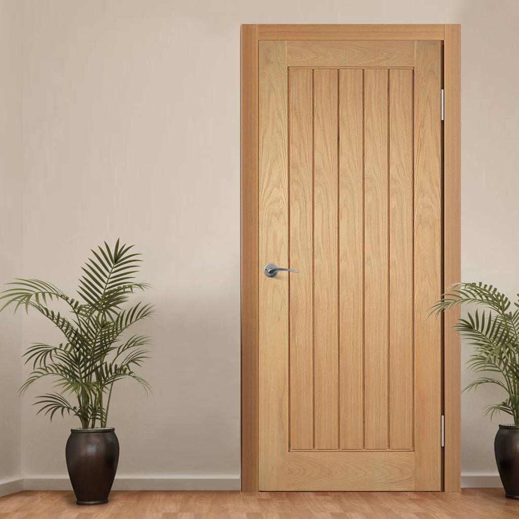 Mexicano oak door with vertical lining is pre finished oak doors mexicano oak door with vertical lining is pre finished planetlyrics Gallery