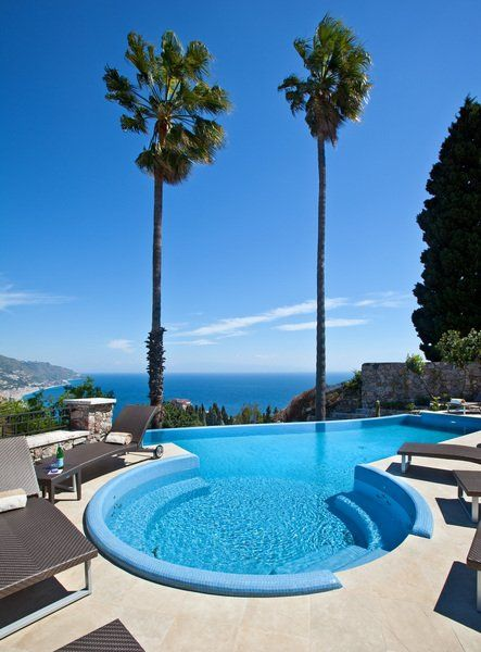 Pool Hotel The Ashbee Hotel Taormina Italien Sizilien Italy Sicily Sizilien Pinterest