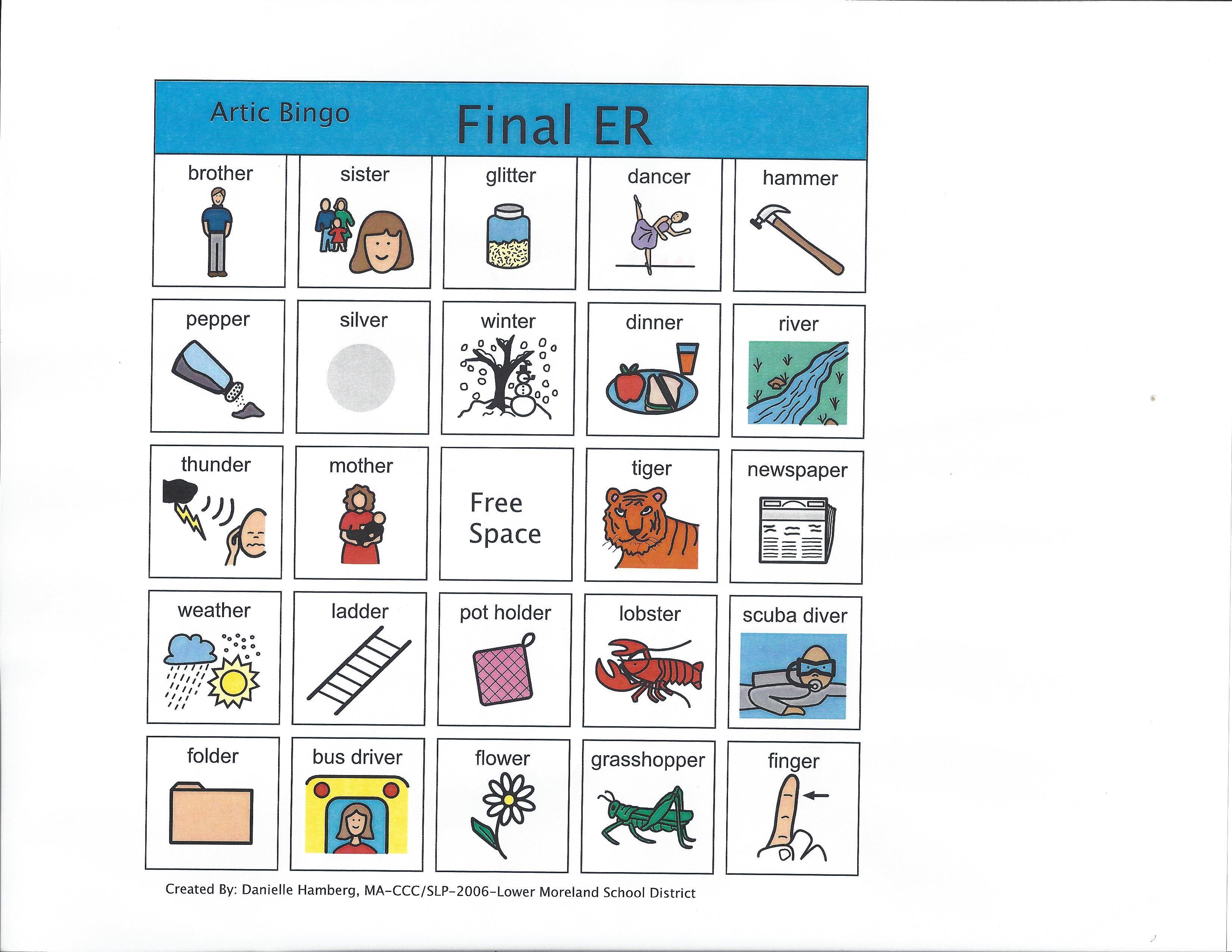 Final Er Bingo Visit Us 8speech