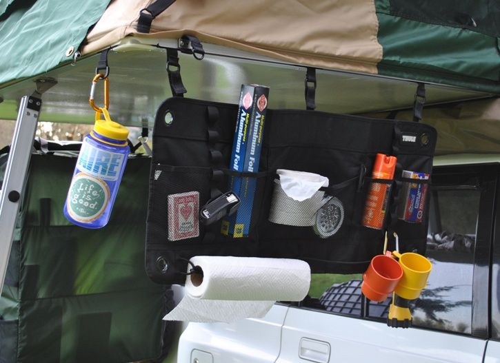 Tents & Thule 7807 organizer | Camper: Pop Up Camper Organization Ideas ...