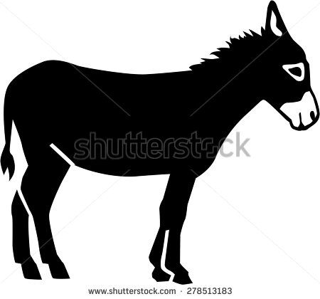 stock images similar to id 200250263 donkey drawing. Black Bedroom Furniture Sets. Home Design Ideas
